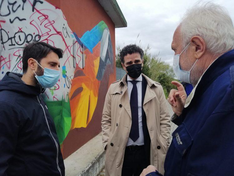 La street art prende piede a Parco Leonardo
