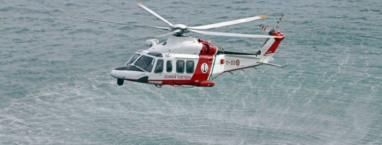Colpito da ictus al largo del mare di Civitavecchia: soccorso dall'elicottero della Guardia costiera