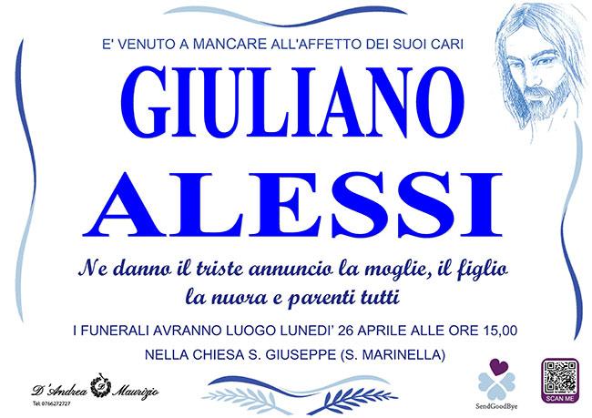GIULIANO ALESSI
