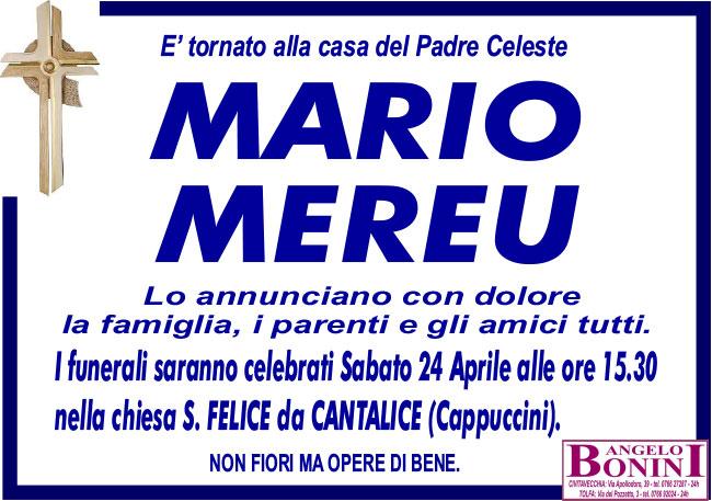 MARIO MEREU