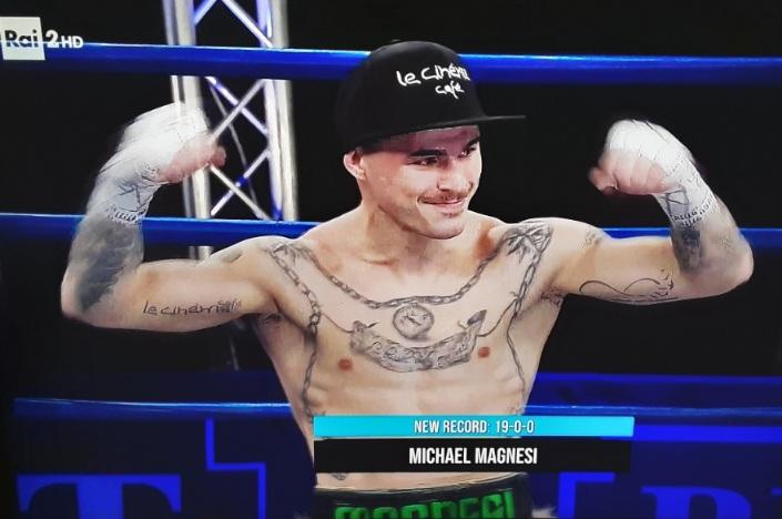 Michael Magnesi ancora campione del mondo in 47 secondi