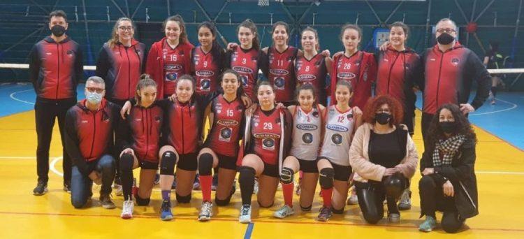Cv Volley, la soddisfazione settimanale arriva dall'Under 17 Eccellenza