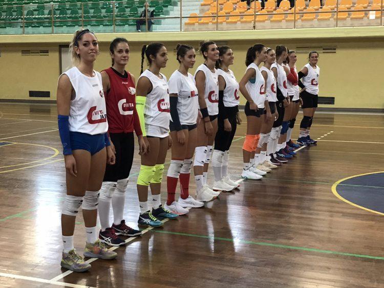 Margutta CivitaLad in campo contro la Roma Volley