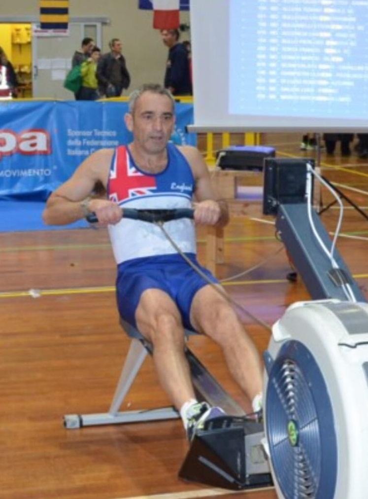 Roberto Di Luzio secondo agli Italiani di Indoor Rowing