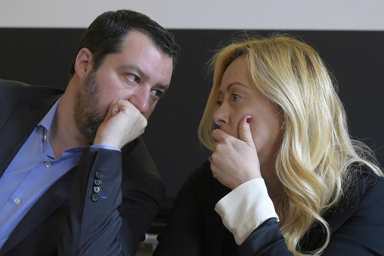 """Coprifuoco, Salvini e Meloni in pressing: """"Non e' piu' tollerabile e chiudere alle 22 non serve contro il Covid"""""""