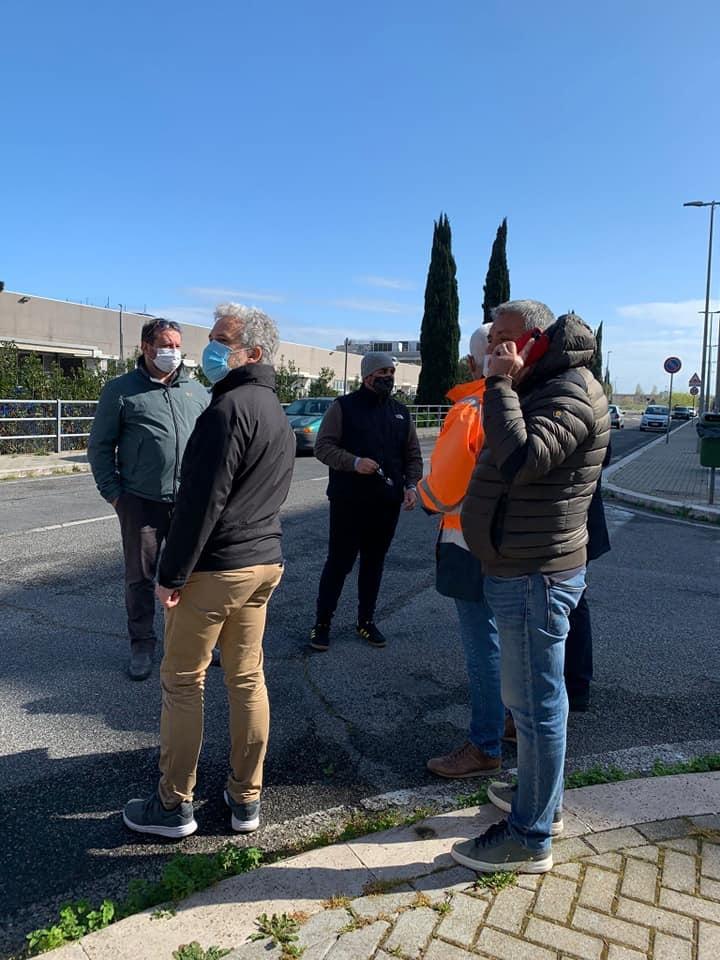 Parco Leonardo: sopralluogo di cittadini e amministrazione comunale