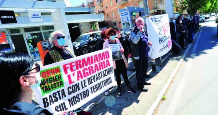 Agraria, nuovo sit-in di protesta