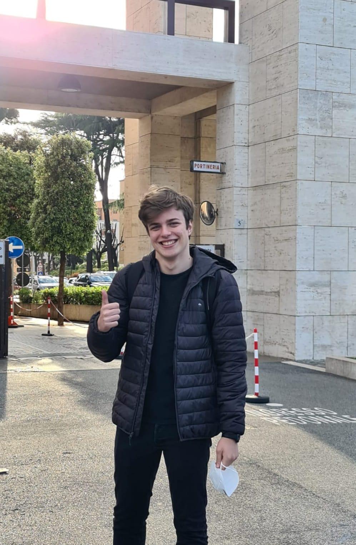 """Olimpiadi matematica, Di Berardino: """"Complimenti a Foschi per la vittoria"""""""