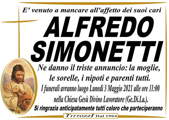 ALFREDO SIMONETTI