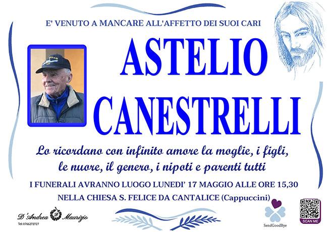 ASTELIO CANESTRELLI