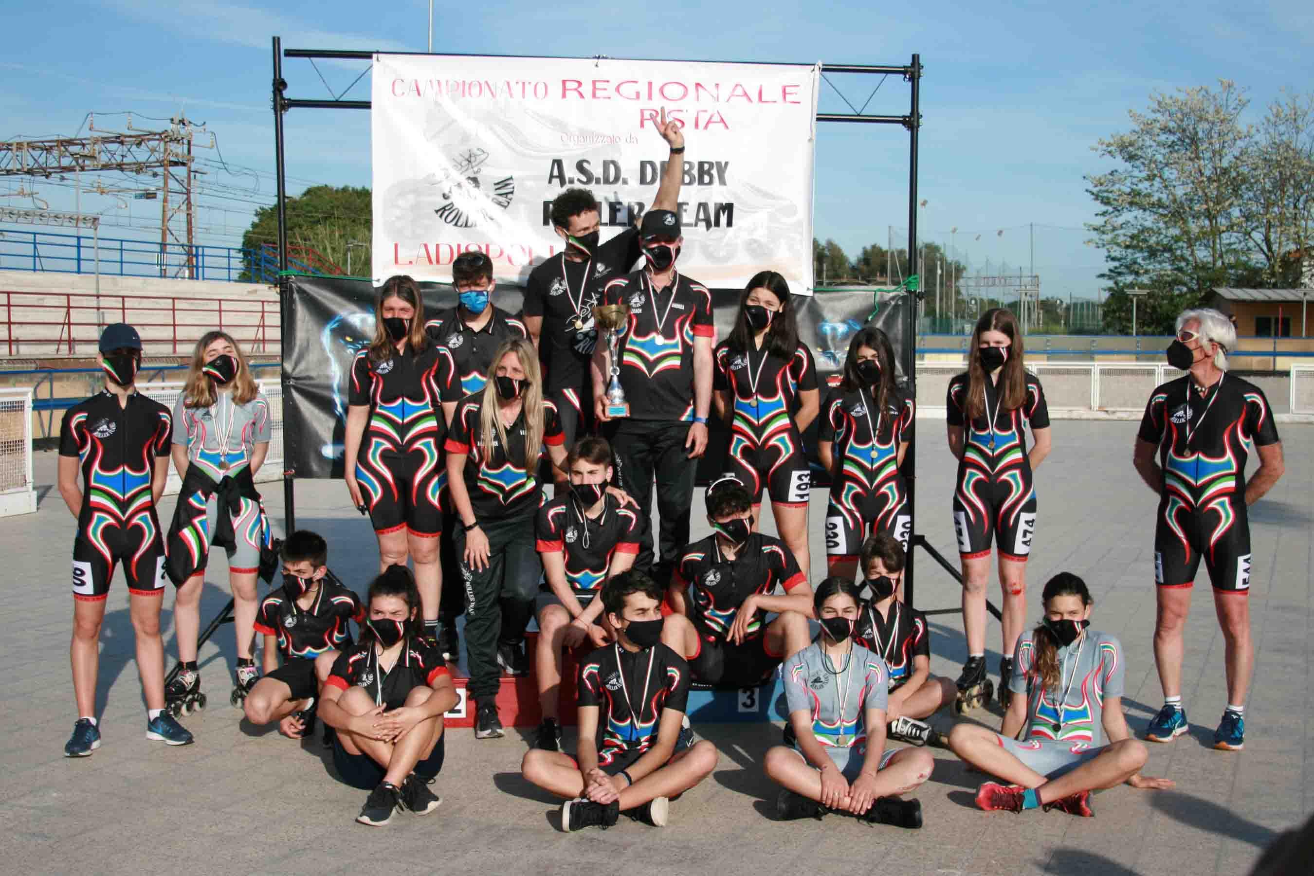 Debby Roller Team, tanti risultati ai campionati regionale Pista 2021