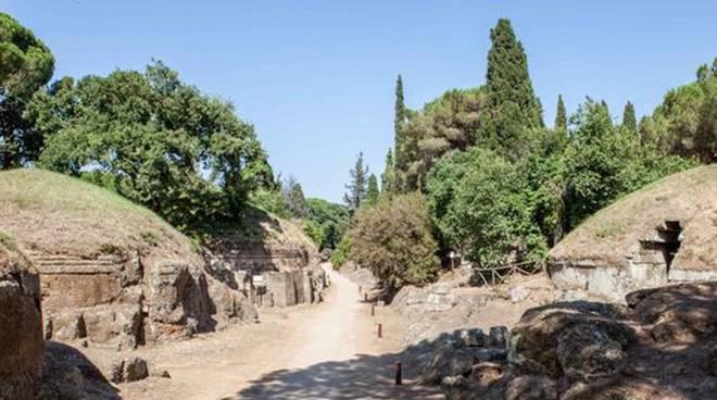Cerveteri: scoperti scavi clandestini alla Necropoli della Banditaccia