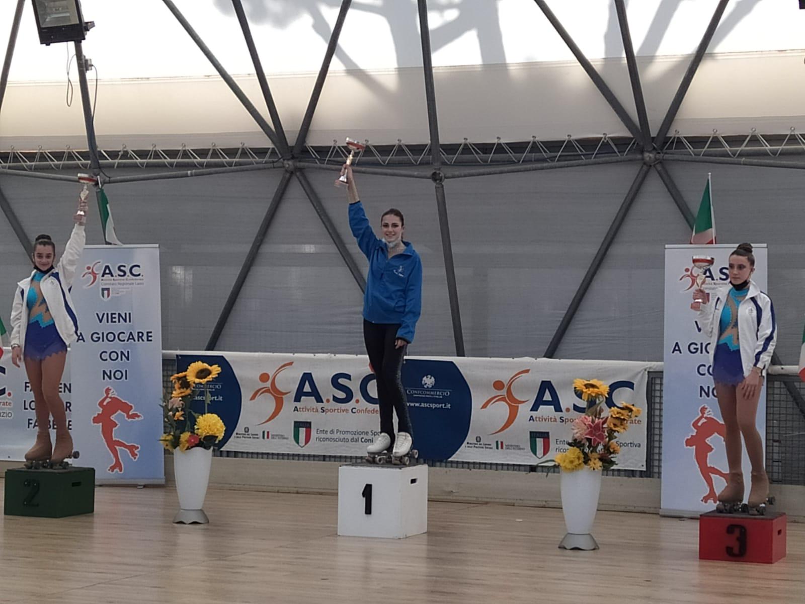 Cv Skating, le Roller Fairies fanno il pieno di medaglie al Trofeo Asc