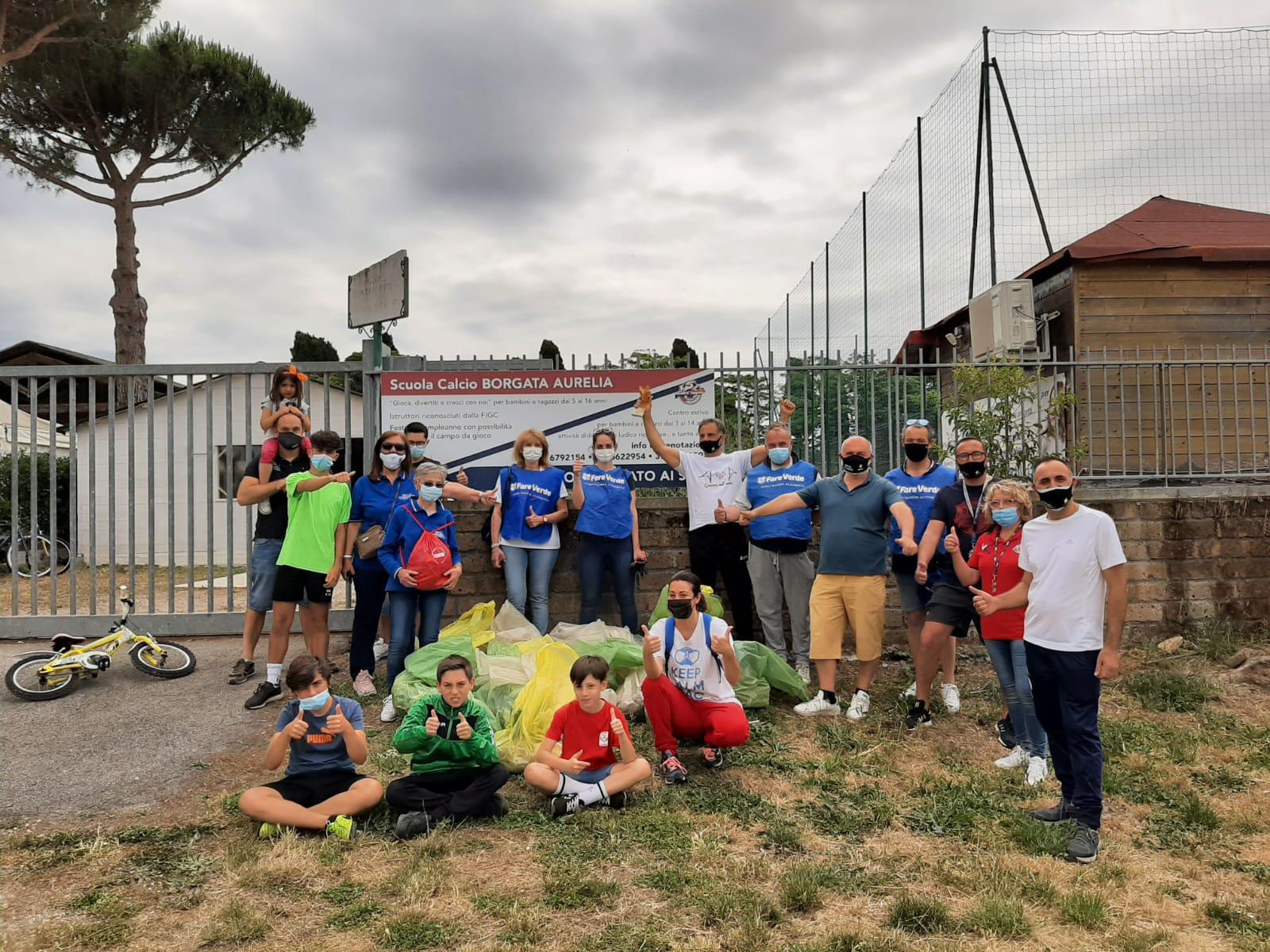 """""""Scendi in strada a pulire Borgata Aurelia"""", l'iniziativa è un successo"""