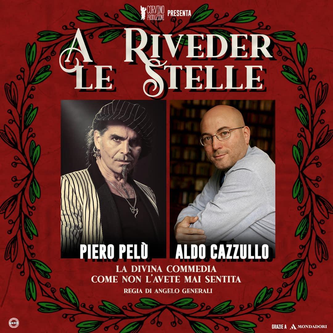 """""""A riveder le stelle"""", ultimi giorni di prevendite per lo spettacolo con Cazzullo e Pelù"""