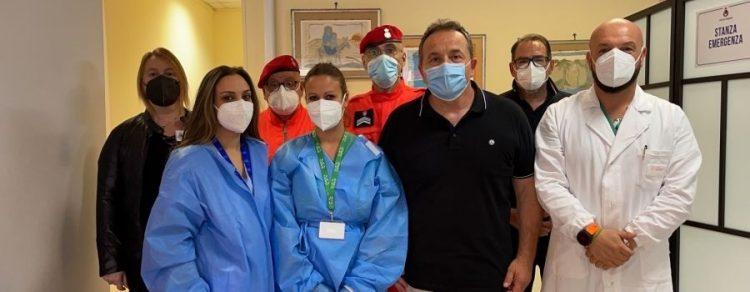 Coronavirus: si allunga l'orario di apertura del centro vaccini di via Trapani