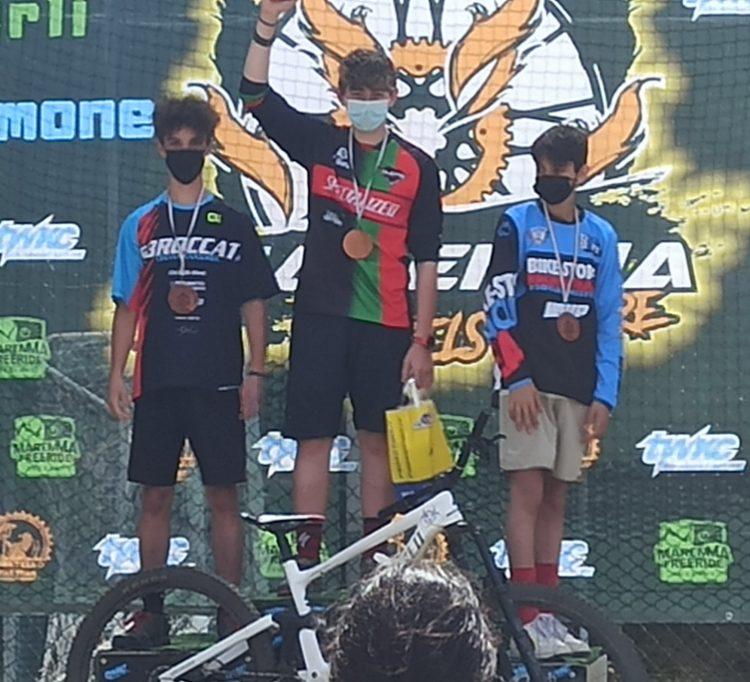 Asd Sbroccati, Samuele Del Rio a podio alla prima gara del campionato Maremma Wheels on Fire
