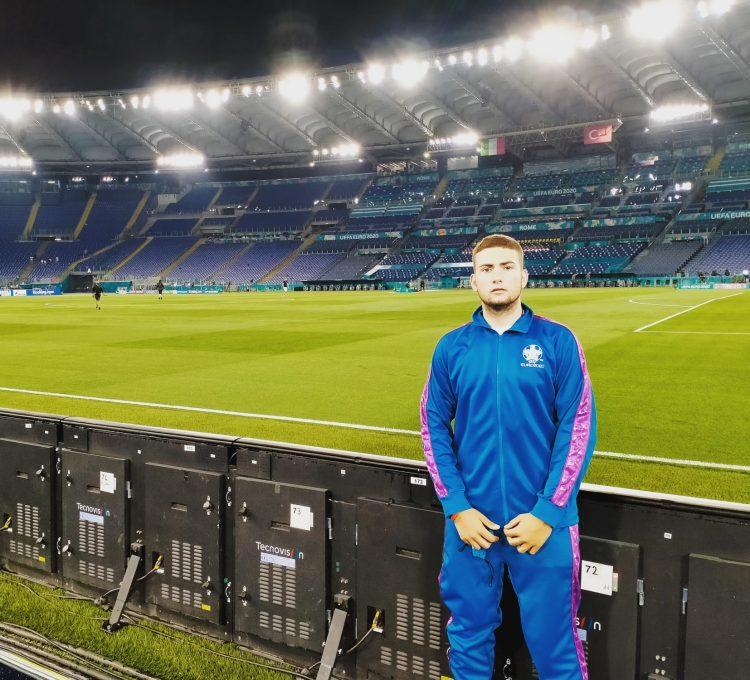 Il Crc porta fortuna alla Nazionale: all'inaugurazione di Euro 2020 presente Luca Luciano