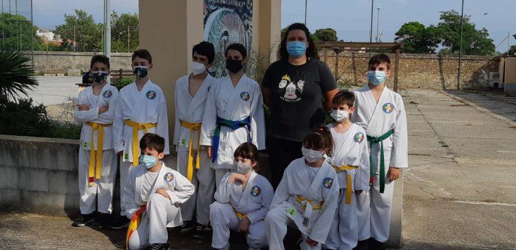 Il karate civitavecchiese riparte nel migliore dei modi