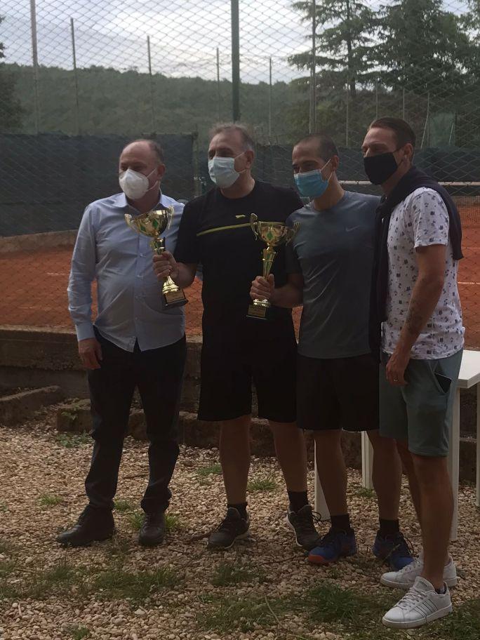 Giancarlo e Daniele Pierantozzi conquistano il torneo primavera di doppio maschile