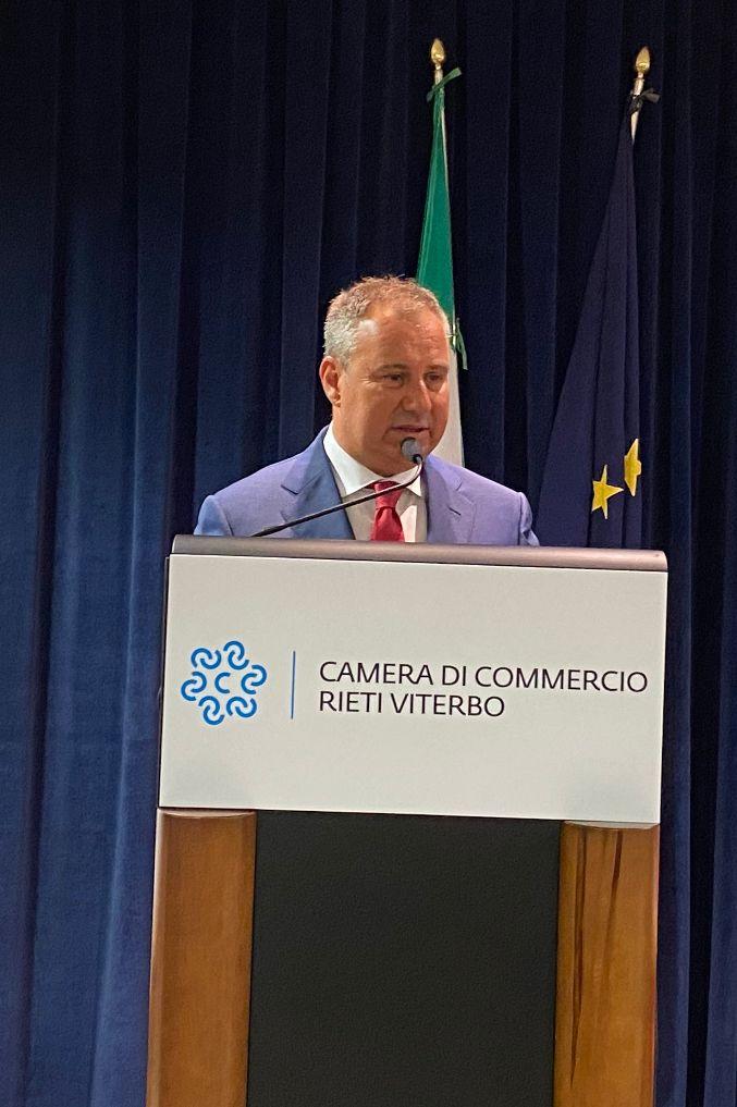 Nasce la nuova Camera di Commercio Rieti-Viterbo: Domenico Merlani eletto presidente