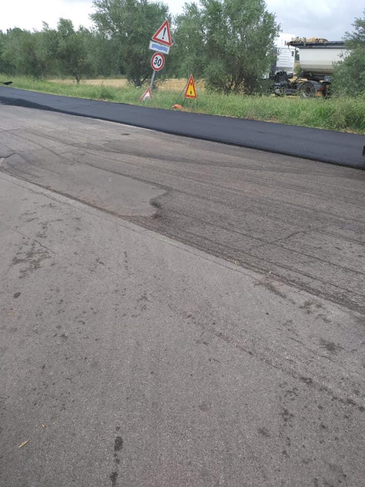 Partiti i lavori di asfaltatura a Sant'Agostino