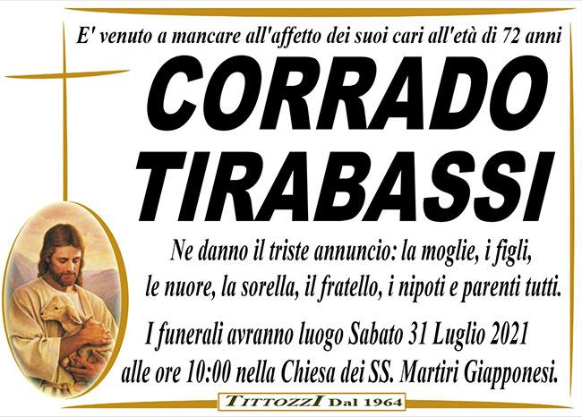 CORRADO TIRABASSI