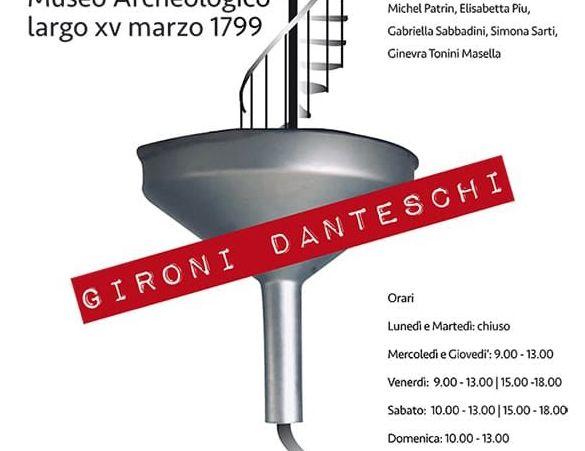 """I gironi danteschi"",     inaugurata la mostra"