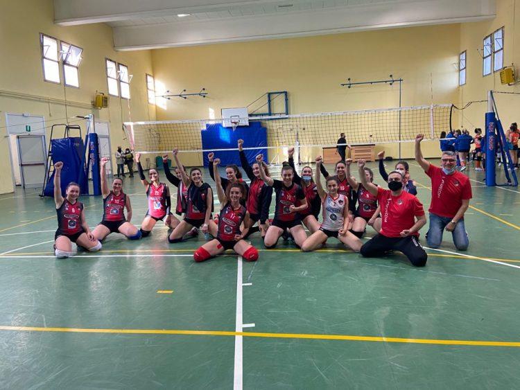 Cv Volley, portati i colori rossoneri nella giusta categoria: la serie C