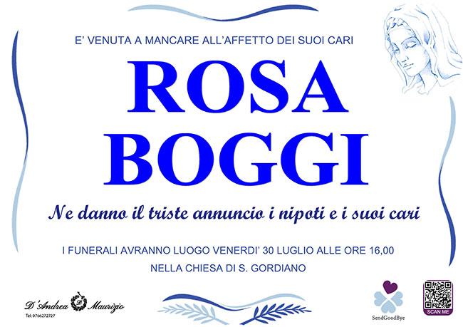 ROSA BOGGI