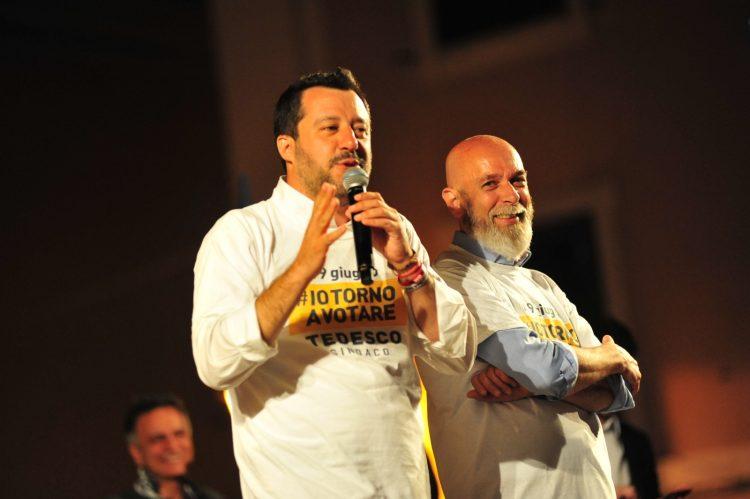 Lega, Tedesco accompagna Salvini sul litorale