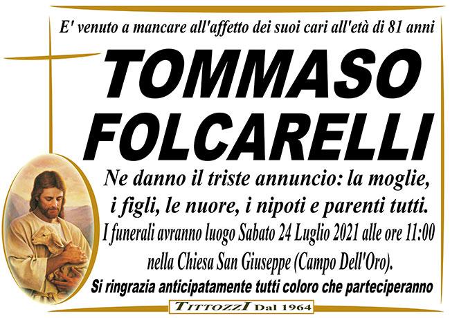 TOMMASO FOLCARELLI