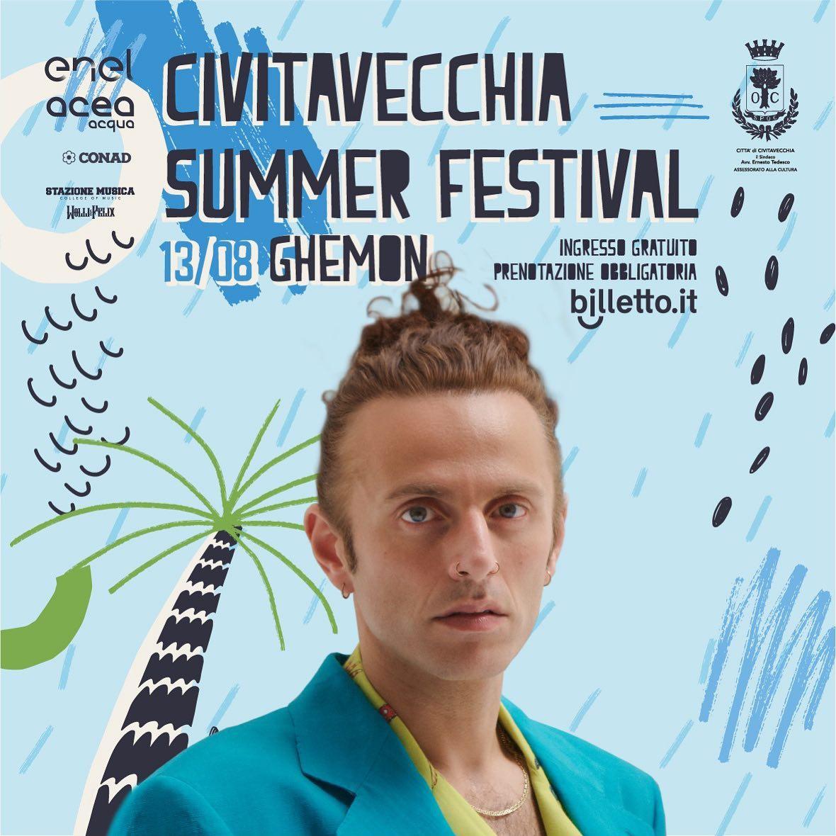 Ghemon, questa sera il rapper e cantautore sarà a Civitavecchia