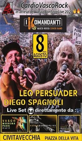 """Civitavecchia summer village, sale l'attesa per il """"Cardio Vasco rock"""""""
