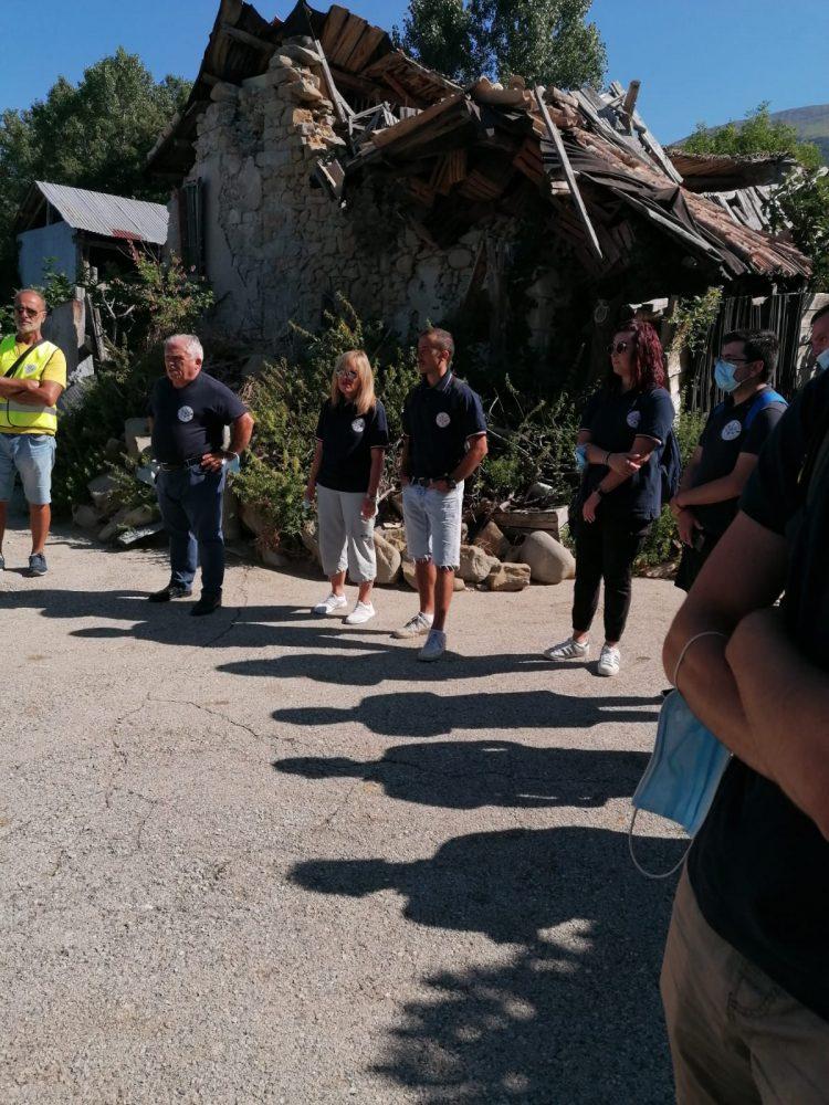 Terremoto nel centro Italia: la Protezione civile di Civitavecchia torna ad Amatrice