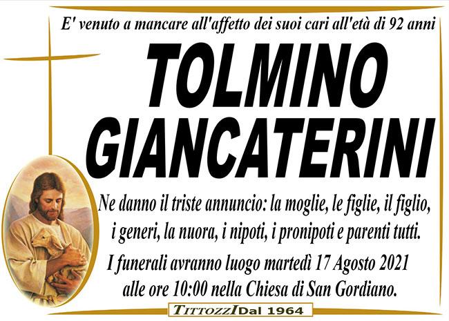 TOLMINO GIANCATERINI