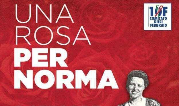 """Domenica la terza edizione dell'iniziativa """"Una rosa per Norma Cossetto"""""""