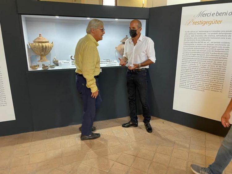 """""""Sfingi, leoni e mani d'argento"""" in mostra"""
