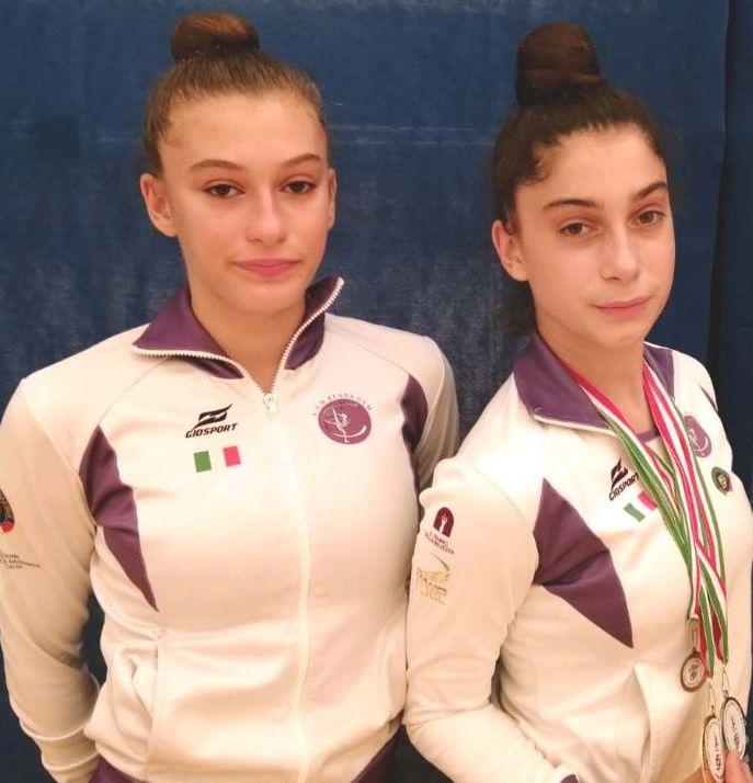 Le atlete dell'Elana Gym     protagoniste al campionato regionale
