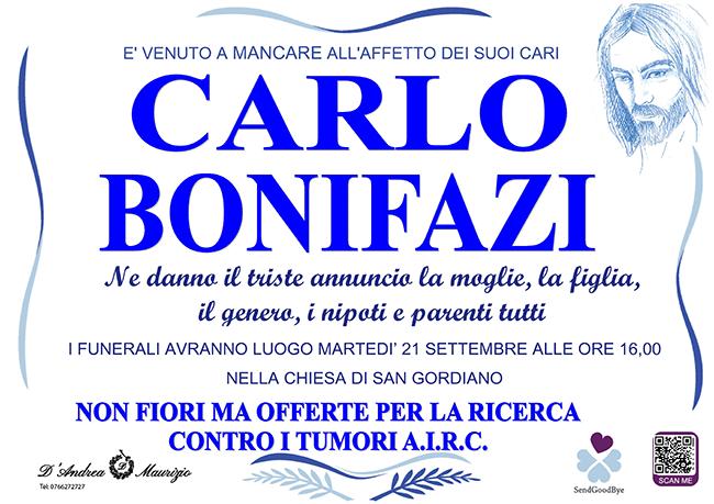 CARLO BONIFAZI