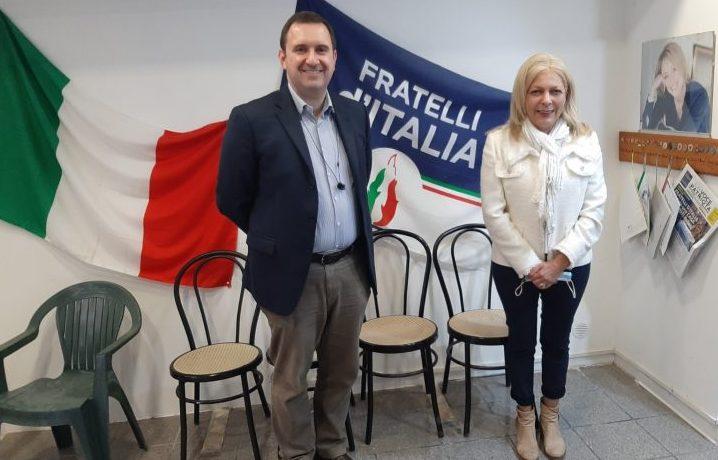 Fratelli d'Italia, torna lo sportello sociale     con l'ex assessore Alessandra Riccetti