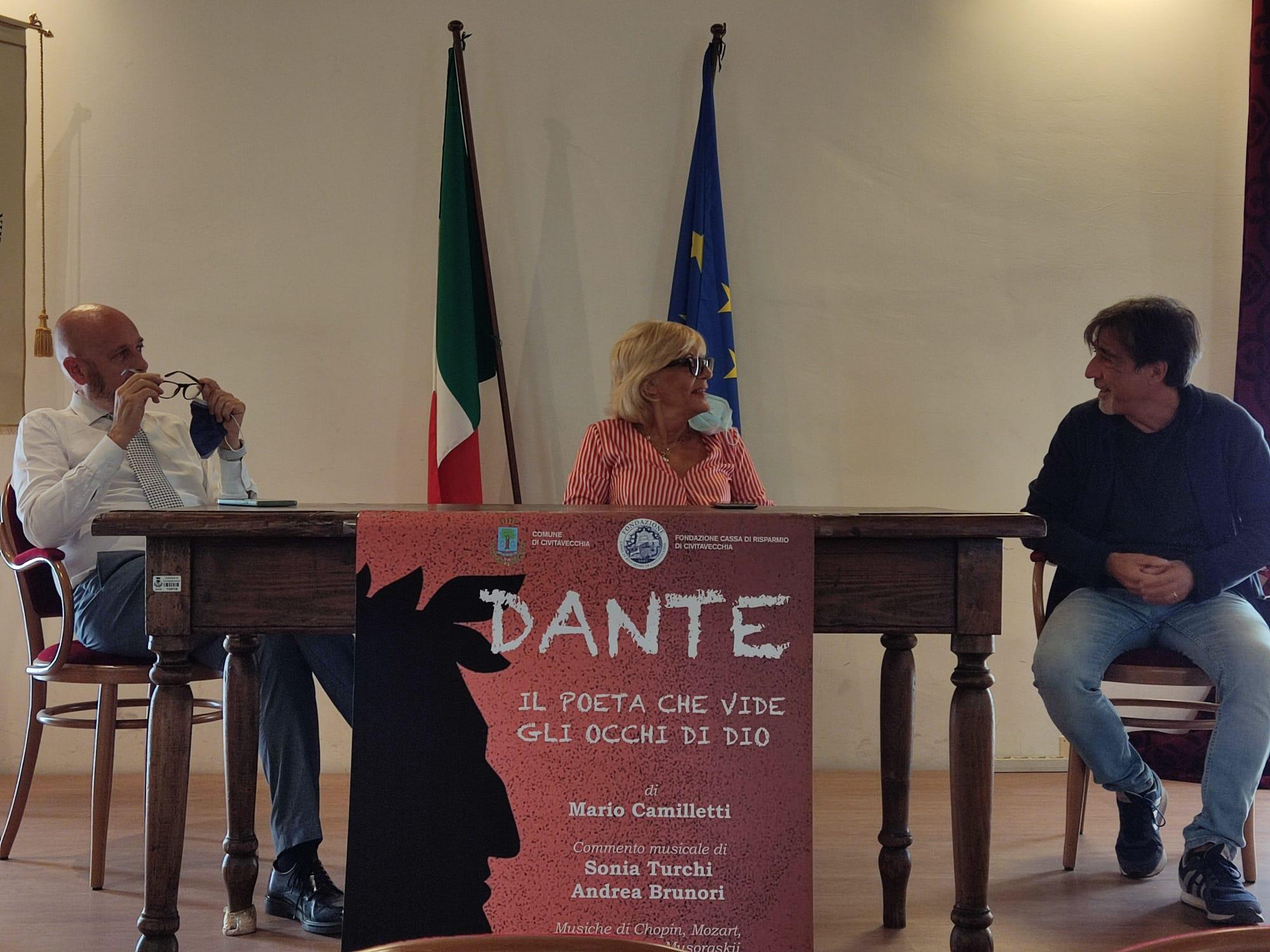 Camilletti porta Dante alla Cittadella della Musica