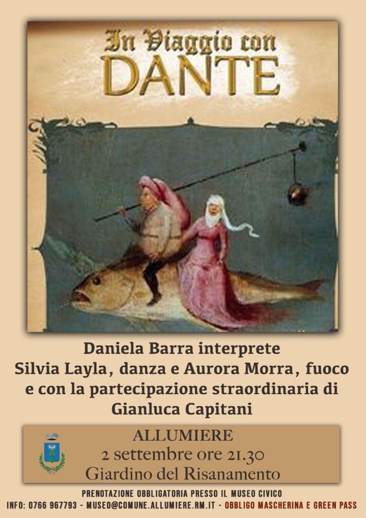 """Al parco del Risanamento """"Viaggio con Dante"""""""