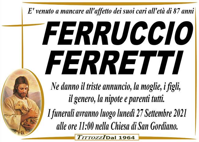FERRUCCIO FERRETTI