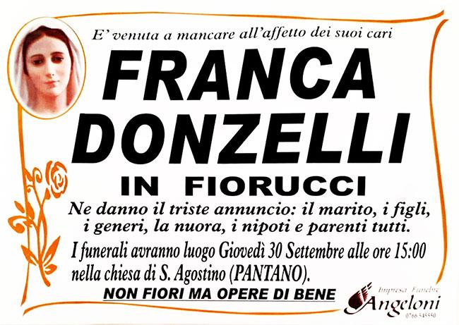 FRANCA DONZELLI in FIORUCCI
