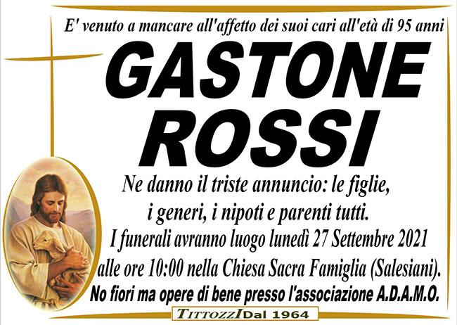 GASTONE ROSSI