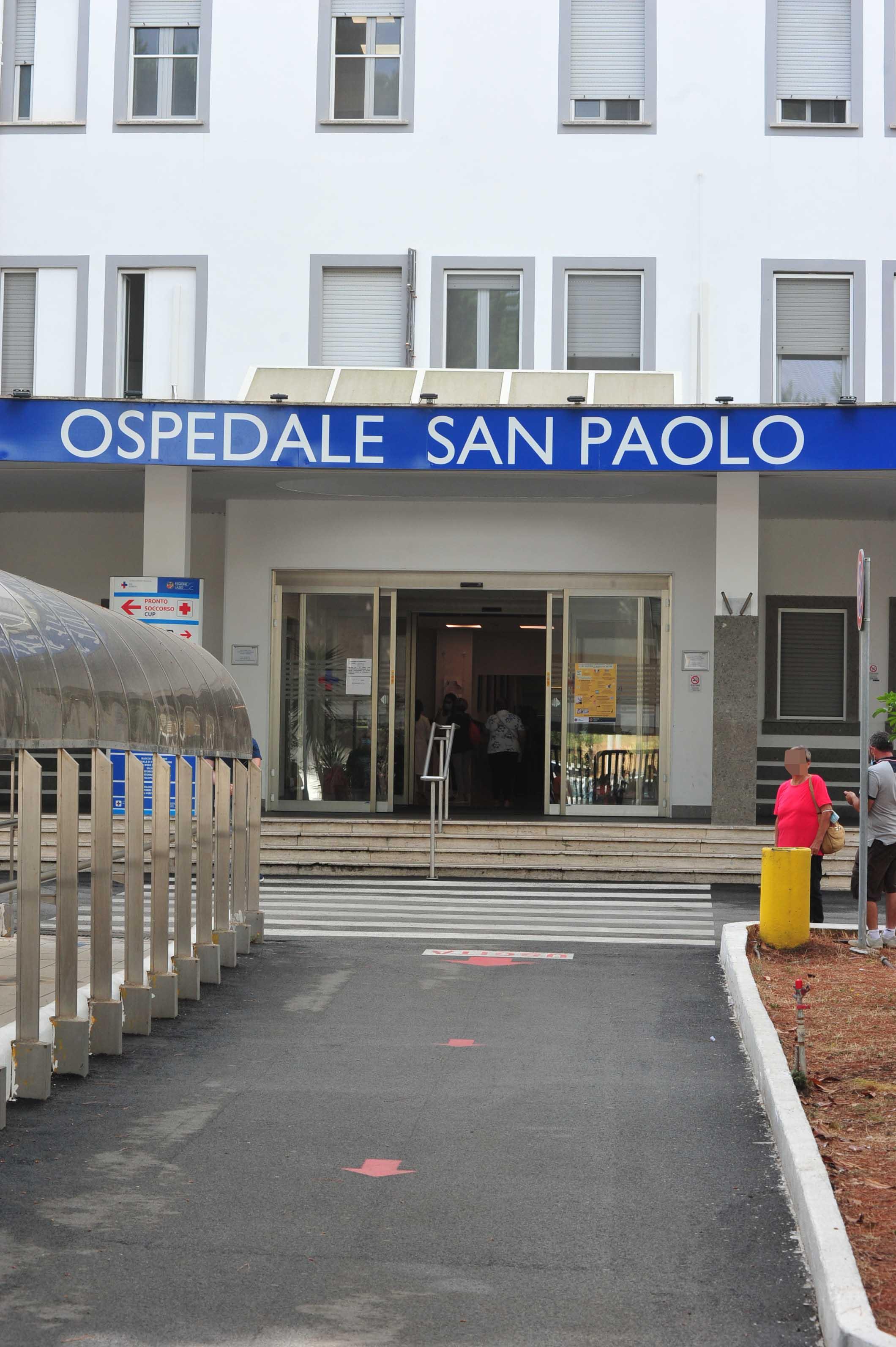 Cammilletti ringrazia il personale del San Paolo