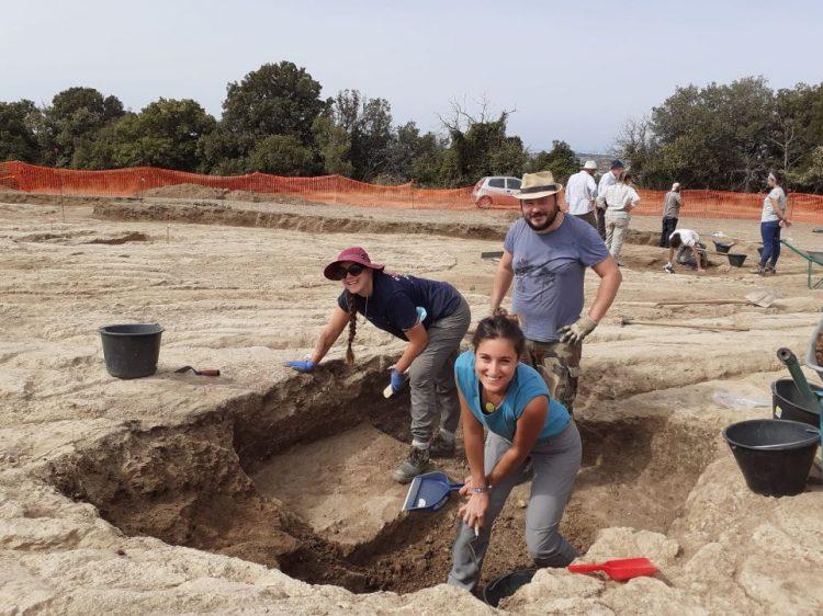 Visite alla nuova campagna di scavo a Monte Abatone Cerveteri