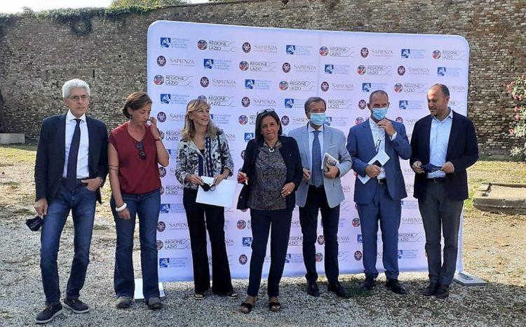 L'assessore regionale Di Berardino visita l'area archeologica di Pyrgi