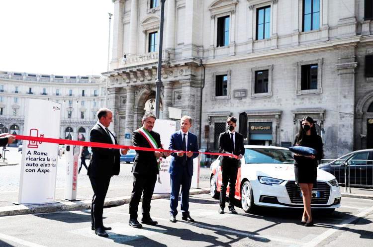 Axpo Italia inaugura le prime stazioni pubbliche di ricarica elettrica